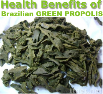 which are the benefits of brazilian green propolis