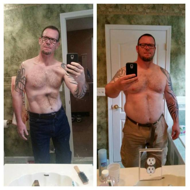 Robert Lost 120 Pounds at Home
