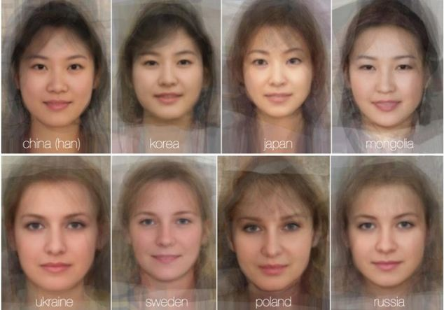 Some have been critical of the average images, saying - as the results all appear to be around 20 years old - they do not reflect any age range within a country
