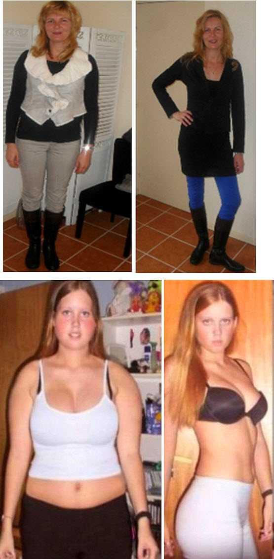 Результаты похудения на гречки